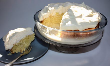 Tres Leches (three milk) Cake