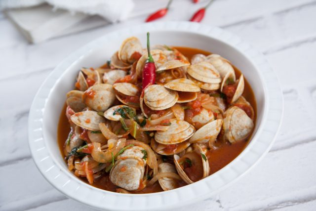 Amêijoas or Clams