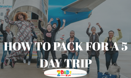 HOW TO PACK FOR A 5 DAY TRIP