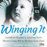 BOOK REVIEW : WINGING IT – RUGBY REF JONATHAN KAPLAN'S JOURNEY TO DADDYHOOD