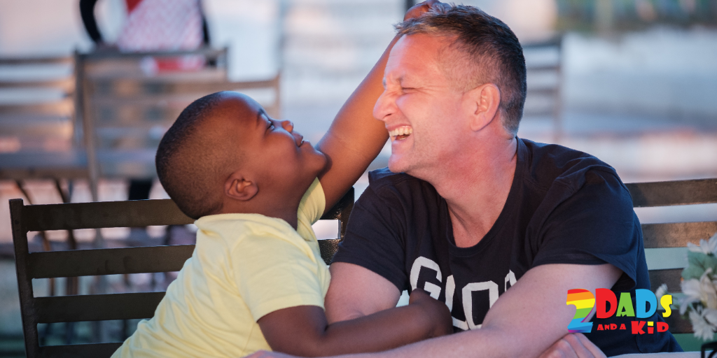 CELEBRATING DADS : F – R – I – E – N – D … THAT'S HOW YOU SPELL DAD