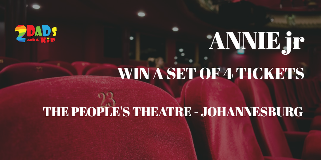 CLOSED {{ GIVEAWAY }} 2 SETS OF 4 TICKETS TO ANNIE jr – THE PANTO
