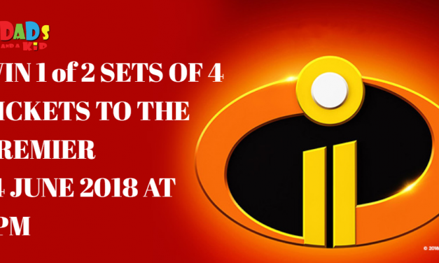 CLOSED {{WIN 1 of 2 SETS OF FOUR FAMILY TICKETS}} THE INCREDIBLES 2 HITS OUR SCREENS