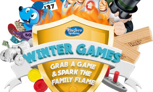 HASBRO WINTER GAMES CHALLENGES YOU TO RE-INVENT THE CLASSICS