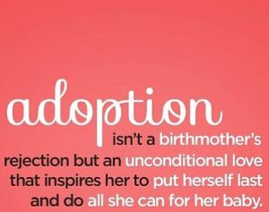MOTHERS DAY AND BEING ADOPTED