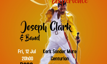 JOSEPH CLARK – QUEEN EXPERIENCE PRESENTED BY HOSPICE CENTURION