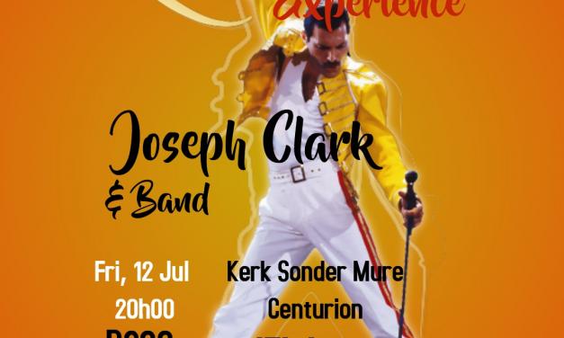 JOSEPH CLARK – QUEEN EXPERIENCE PRESENTED BY HOSPICE CENTURION