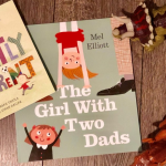 BOOK REVIEW & WIN A COPY : THE GIRL WITH TWO DADS  &  PERFECTLY DIFFERENT