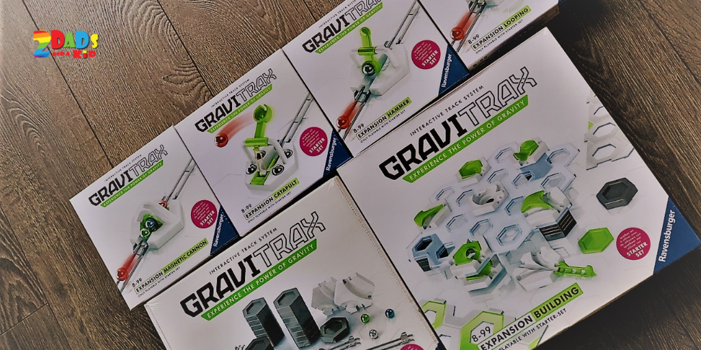GAME REVIEW : GRAVITRAX – STARTER PACK & EXTENSIONS