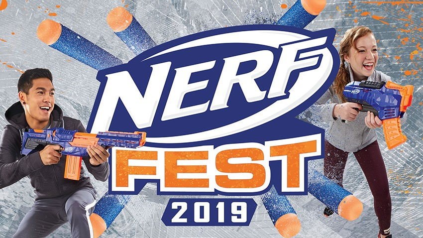 READY! STEADY! GO! ULTIMATE NERF FAN EXPERIENCE, HITS JOBURG THIS OCTOBER