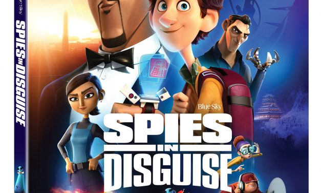 {{MOVIE}} SPIES IN DISGUISE GOES DIGITAL