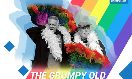 {{ EVENT }} ILOVEMELVILLE.LIVE PRESENTS THE GRUMPY OLD HOMOS SHOW PRIDE PATSY