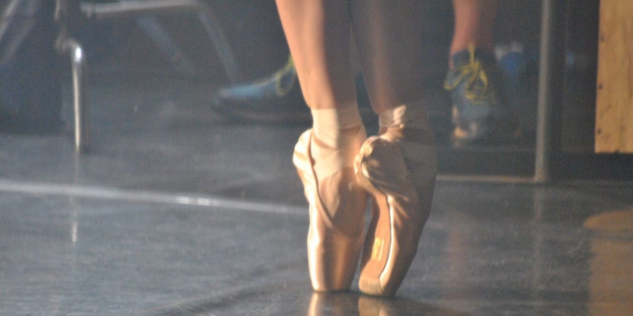 POINTE SHOES, PRAYERS AND A PANDEMIC