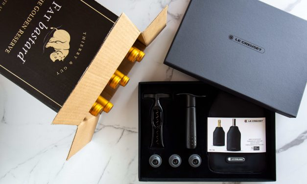 """CELEBRATE FATHER'S DAY IN STYLE  WITH A <p><span style=""""color: #ff9900;"""">FAT <em>bastard</em></span> WINE HAMPER WORTH R2000.00! </p>"""